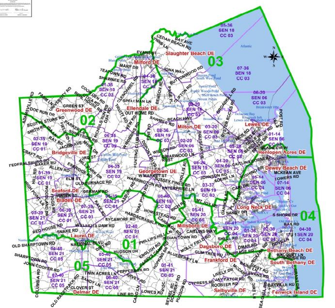 County Council Maps